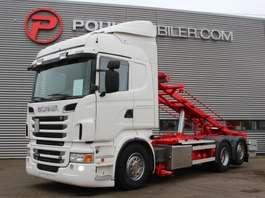 camião de contentores Scania R560 6x2 2012