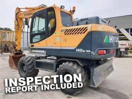wheeled excavator Hyundai Robex 140W-9 A 2014