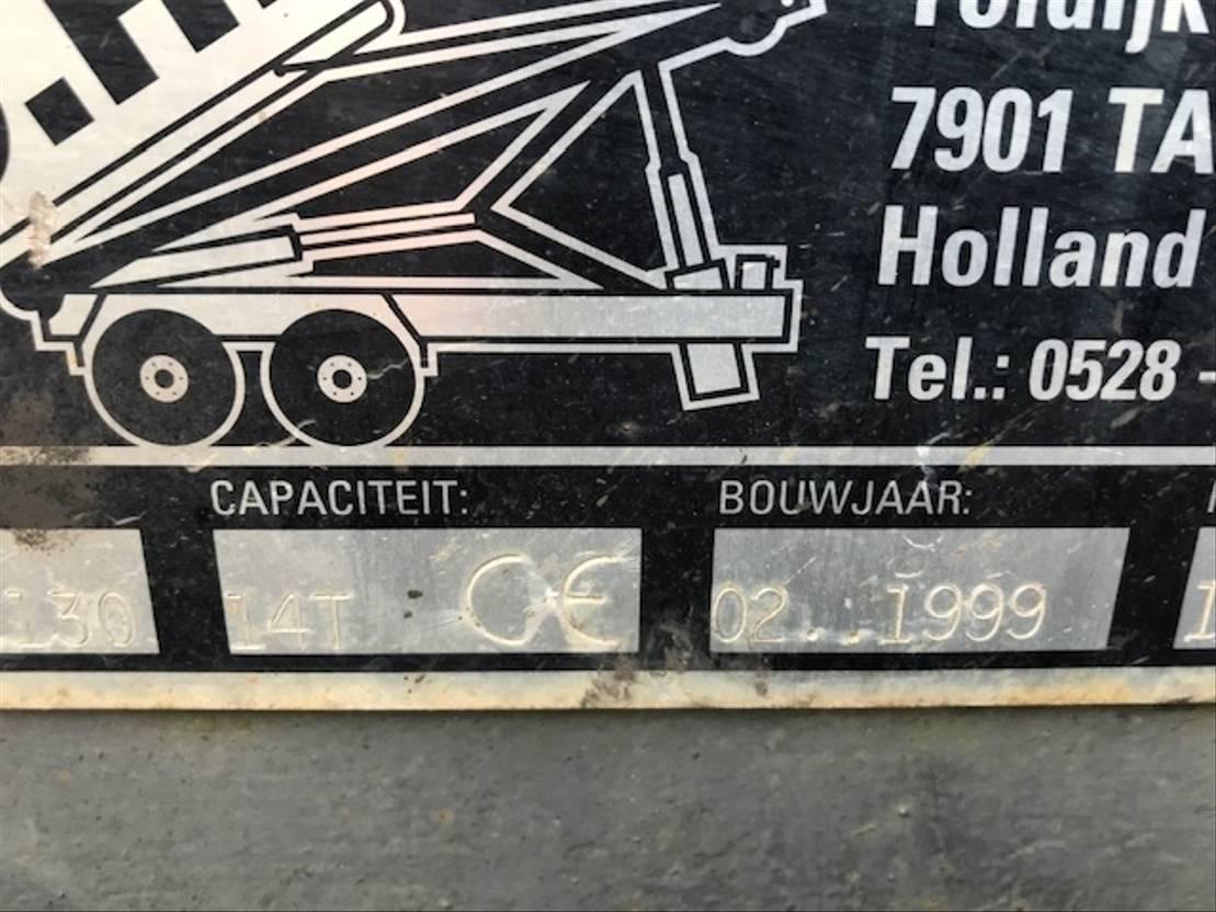 Container system truck part Diversen Diverse NCH 14 TON KABELSYSTEEM 1999