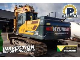 crawler excavator Hyundai HX 220 L 2017