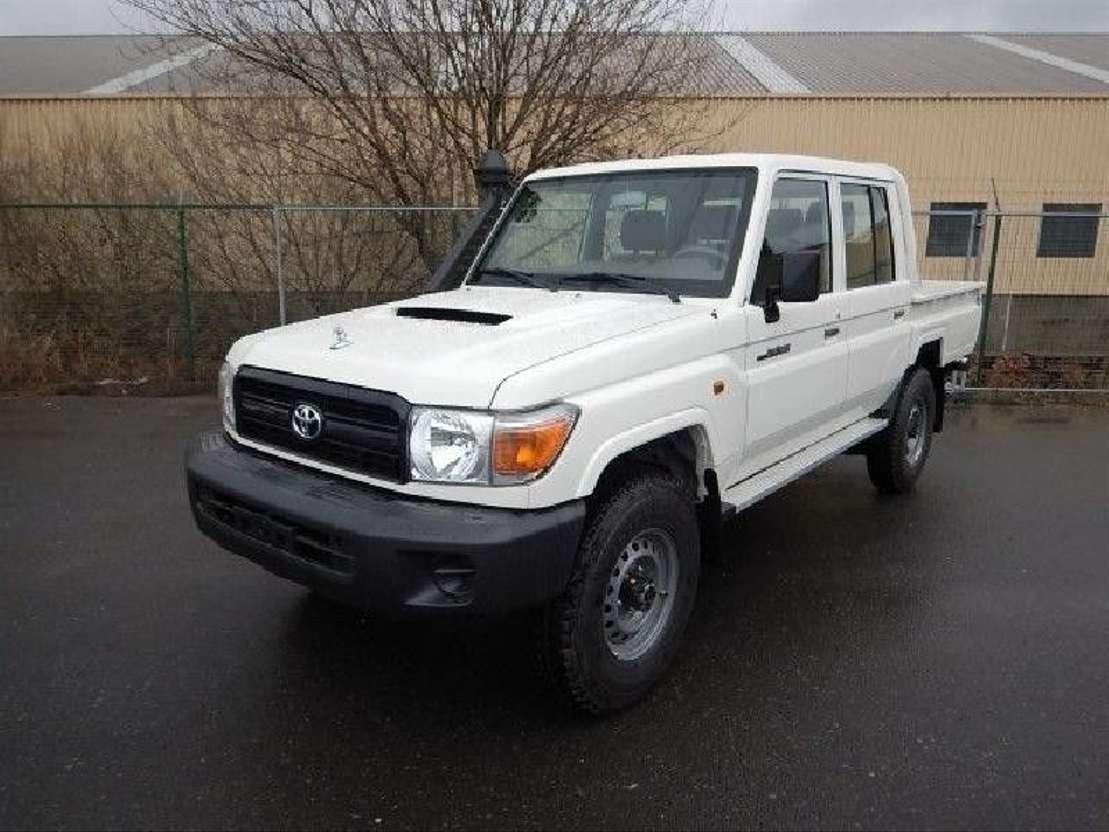 Toyota Land Cruiser Diesel >> Toyota Land Cruiser Dcpu Vdj 79 4 5l Turbo Diesel Pickup Passenger Car Trucksnl Com