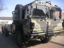 camion militaire MAN KAT 7 T MIL GL A1 6x6 Chassie 1990