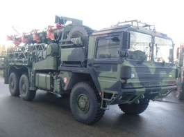 army truck MAN MAN KAT ANTENNE 34 Mtr Dornier 1991