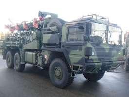 camion militaire MAN MAN KAT ANTENNE 34 Mtr Dornier 1991