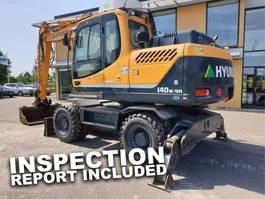 wheeled excavator Hyundai Robex 140W-9 A (blade & outriggers) 2014