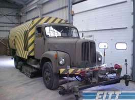 Road sweeper truck Sauer Sauer Berna 2DM/2VM veegwagen 1971