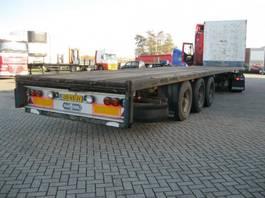 flatbed semi trailer Van Hool S 330 27 OPEN 1994
