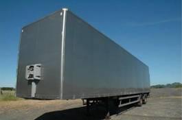 closed box semi trailer Fruehauf ONCRK 32-220-A 2003