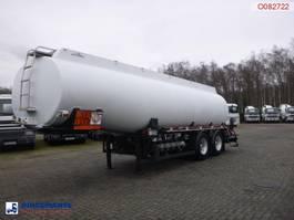 Tankauflieger Caldal Fuel tank alu 28 m3 / 5 comp + pump 2001