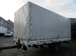 tilt trailer spier 1-assige aanhanger 2004