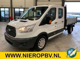 tipper lcv Ford transit 130 pk dub cab pickup 3 zijdige kieper airco 7 persoons 2019