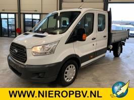 véhicule utilitaire léger à benne basculante < 7.5 t Ford transit 130 pk dub cab pickup 3 zijdige kieper airco 7 persoons 2019