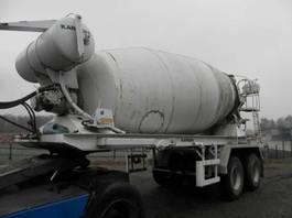 concrete mixer trailer Van Hool 2-assige oplegger 1992