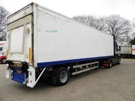 closed box semi trailer Ackermann 1-assige oplegger 1996