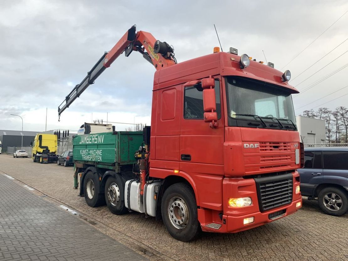 andere LKWs DAF XF 95 430 FTG 6x2 euro 3 2x available Palfinger 2003