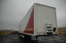closed box semi trailer Krone KRONE SD 27