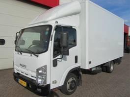 closed box truck Isuzu N-Serie 3,0L 2010