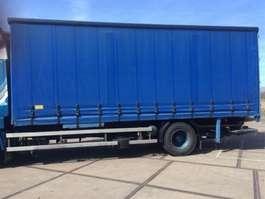 camión con cortina deslizante DAF BDF BAK Schuifzeilen / Tarpauline 2000