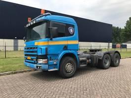 cab over engine Scania 124-420 6x4 Blatt Springs Manual 2000