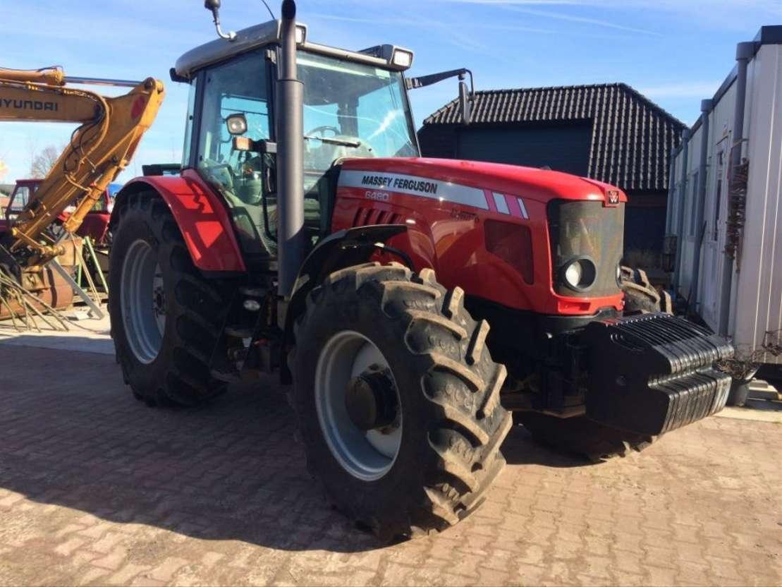 сельскохозяйственный трактор Massey Ferguson 6480 dyna 6 2009