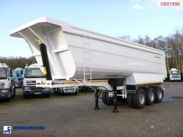 Kippauflieger Galtrailer Tipper trailer steel 40 m3 / 68 T / steel susp. / NEW/UNUSED 2018