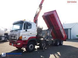 LKW Kipper > 7.5 t Hino FY1EUKA 8x4 tipper RHD + Palfinger E120L + grapple 2007