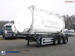 Container-Fahrgestell Auflieger SDC 3-axle container trailer 20-30 ft + pump 2004