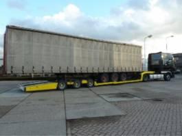 Tieflader Auflieger ultra low trailer 2012