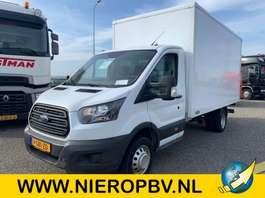 closed box lcv Ford transit bakwagen laadklep airco 2017