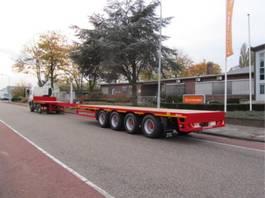 flatbed semi trailer Lintrailers 4 as Mega 2021