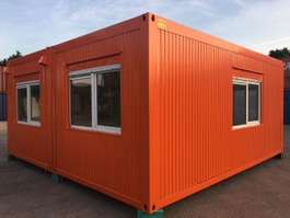 office living container Winters Tweedehands Bureelcontainers 6 x 6m