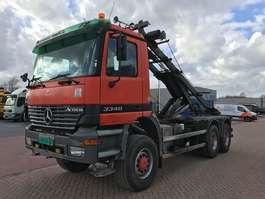 camion conteneur Mercedes Benz ACTROS 3340 6 X 6 2002