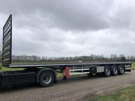 flatbed semi trailer Vlastuin VTR Flat loader , platform , steel-stahl trailer 2020