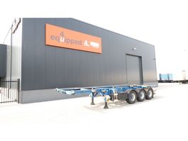 container chassis semi trailer Groenewegen 20FT/30FT, BPW, ALCOA, ADR (EXII, EXIII, FL, OX, AT) 2006
