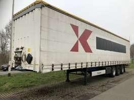sliding curtain semi trailer Krone 3-ass schuifzeilen oplegger 2008
