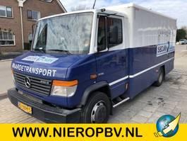 Geldtransporter Mercedes-Benz ategro 816d laadklep gepantserde geldwagen armored money truck 2012