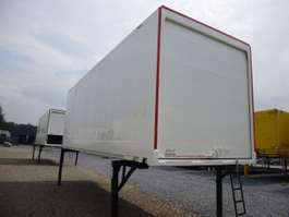 container chassis semi trailer Krone Koffer Glattwandkassette 2006