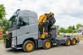 crane truck Volvo FASSI 990RA2.28 FJ L616 8x4 - 360° - 100 %  SZM 2020