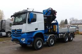 crane truck Mercedes-Benz 4158 - 8x8 ALLRAD - FASSI F820 2.28 2020