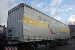 sliding curtain semi trailer Krone SD Tautliner- SAF- LIFT- Anti Vandal- UNFALL 2010