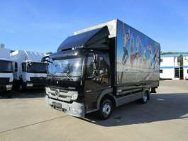 vcl inclinable Mercedes Benz ATEGO 822 L Pritsche 5,1 m LBW 1 T*Luft HA* AHK 2012