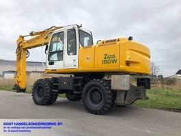 wheeled excavator Hitachi ZX180W-1 ZX180W-1 NEW TYRES 2005
