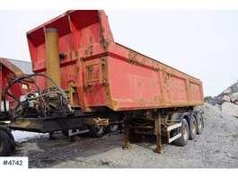 tipper semi trailer Norslep 3 akslet tippsemi 2002