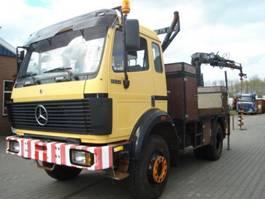 crane truck Mercedes Benz 1722 AK.4X4.STEEL/STEEL.MANUAL.HIAB 100 1990