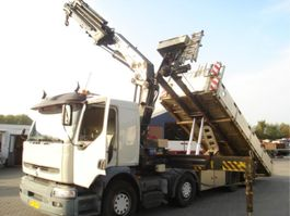 Container-LKW Renault PREMIUM 370 DCI.32 8X2/HMF 37 TON M/NCH LIFT/MANUAL 2006