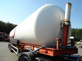 feed semi trailer Fruehauf kiepende/bulk/water/ 2005