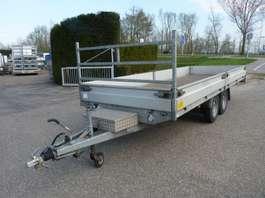 flatbed car trailer Hapert plateauwagen 2014
