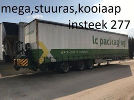sliding curtain semi trailer Netam netam / happy  mega ,stuuras ,kooiaap , liftas , hardhouten vloer 2.77 i... 2008