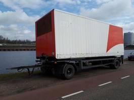 closed box semi trailer GS Meppel gesloten bak 1995