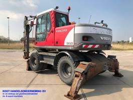 wheeled excavator Volvo EW 160B EW 160B BLADE&OUTRIGGERS 2005